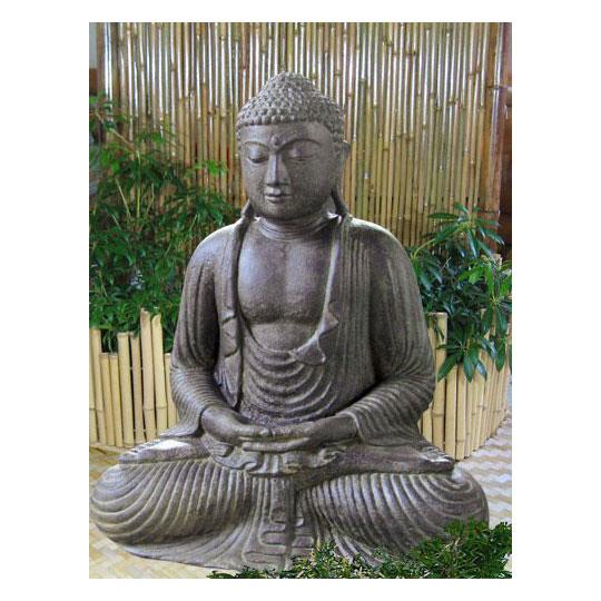 japanischer buddha lavagu figuren skulpturen garten japanwelt. Black Bedroom Furniture Sets. Home Design Ideas