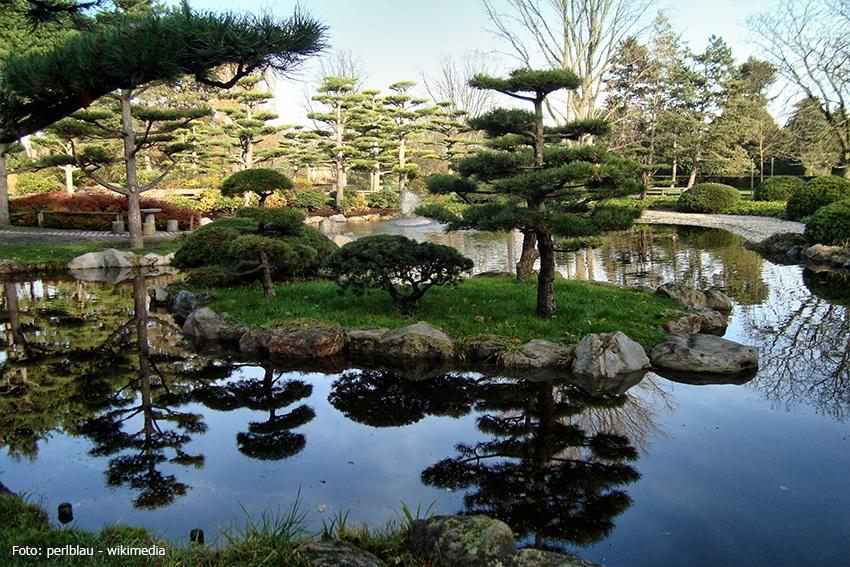 Klein Nippon: der Japanische Garten im Nordpark Düsseldorf