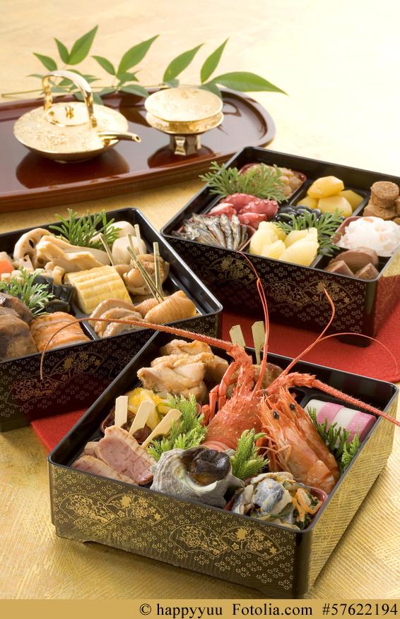 Das japanische Neujahrsessen: Osechi Ryōri (お節料理)