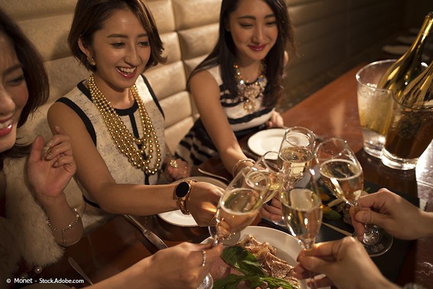 Kanpai - Prosit - japanische Tischregeln