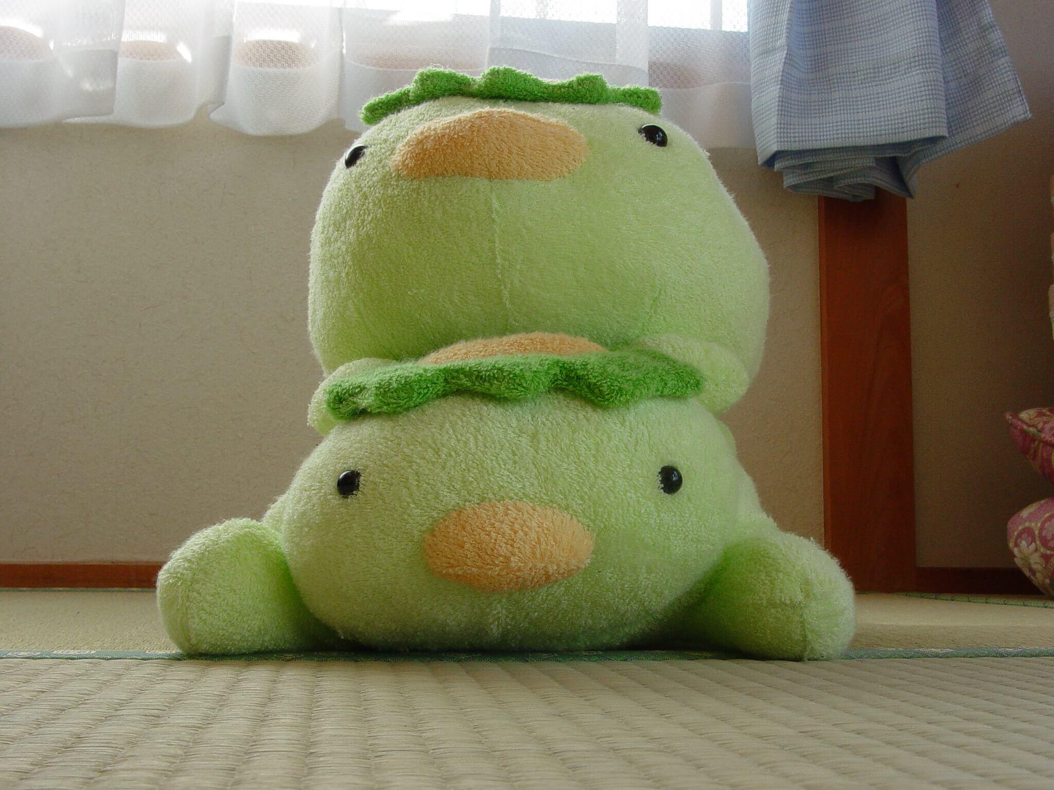 Japanisches Plüschtier Kappa für Kinder