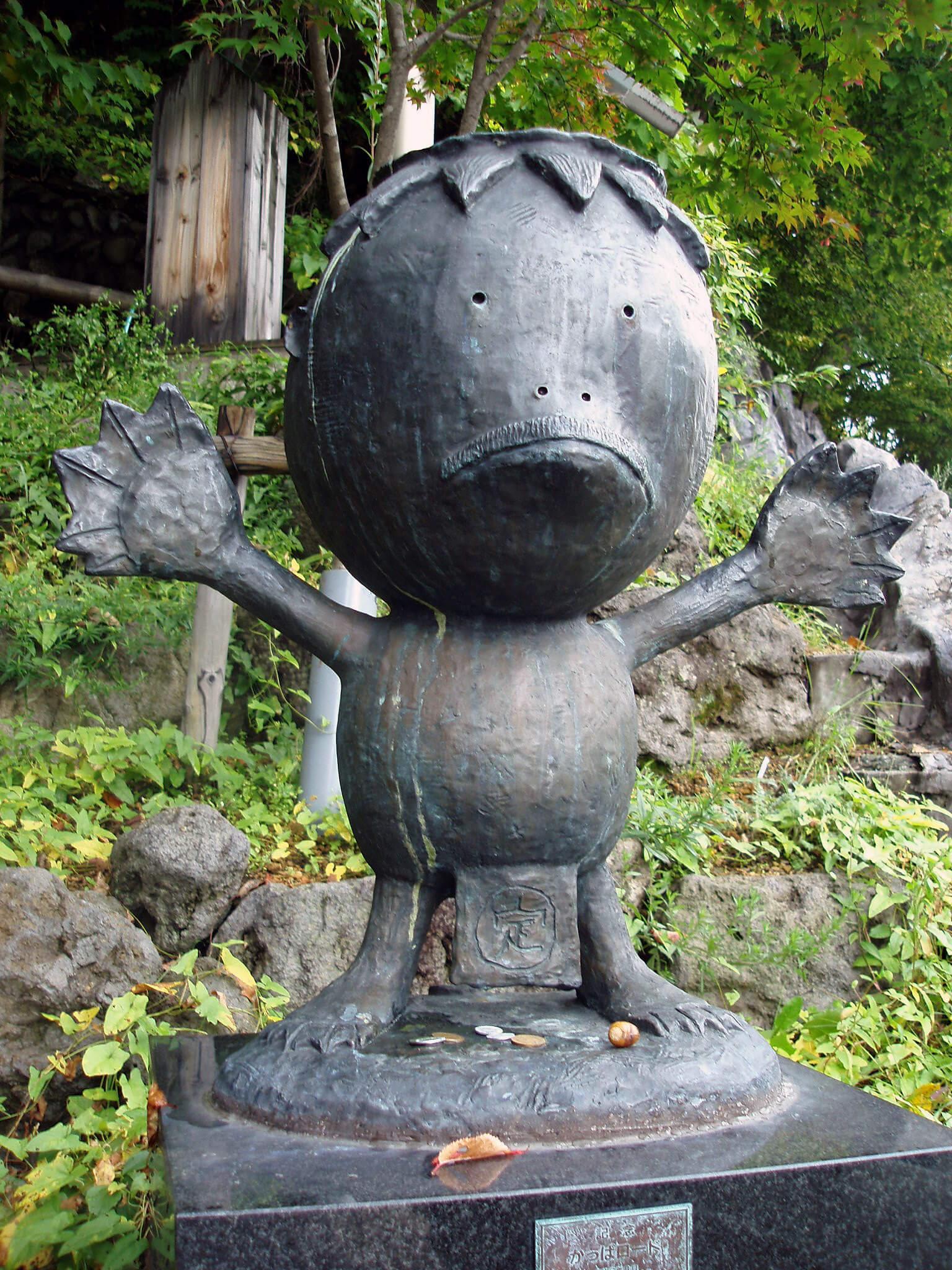 Kappa Statue aus Stein in Japan