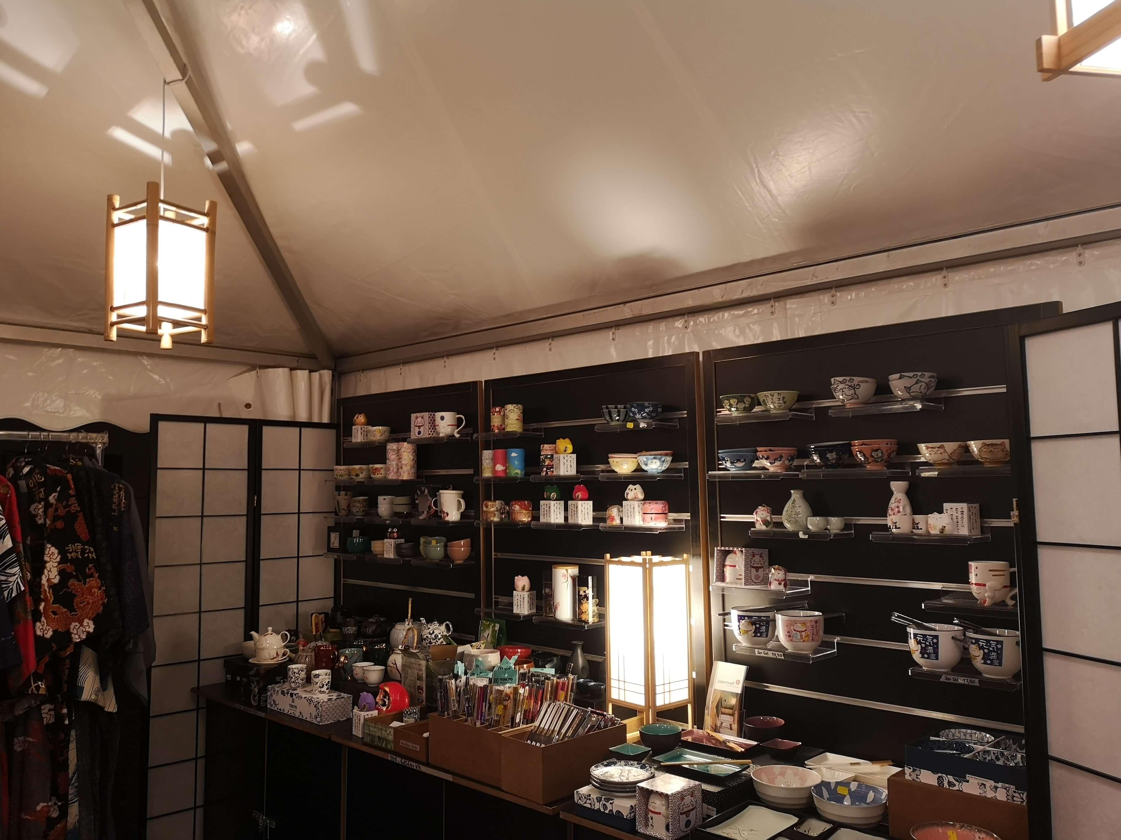 Die japanische Keramik aus dem Japanwelt Shop
