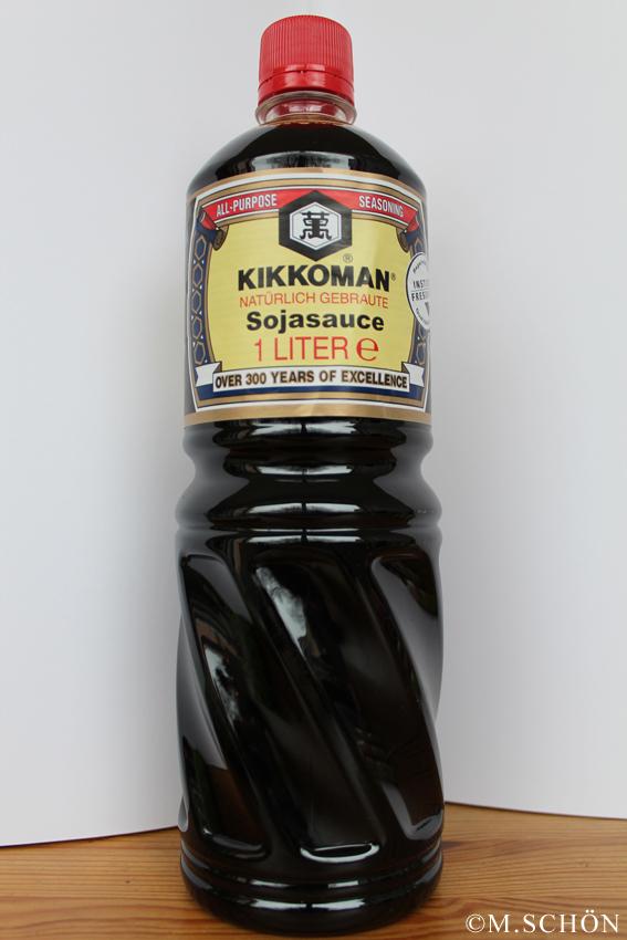 Kikkoman - die bekannteste japanische Sojasaucen-Marke gibt es sogar im Discounter