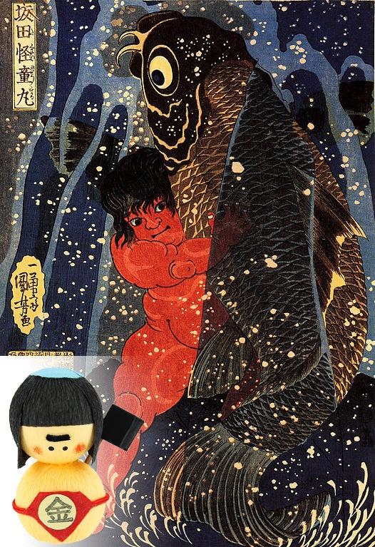 Kintaro ist bekannt für seine unglaubliche Stärke.