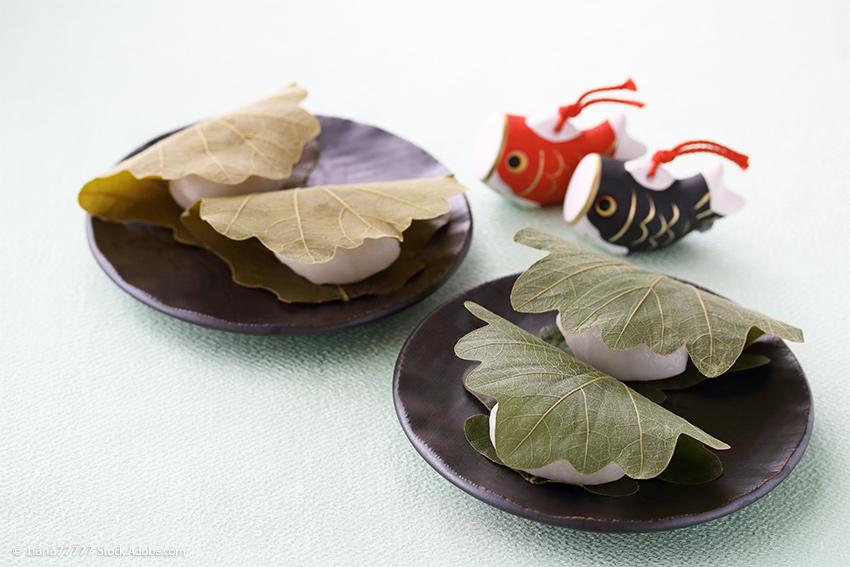 Kashiwa-Mochi – Süßigkeiten zum japanischen Kindertag