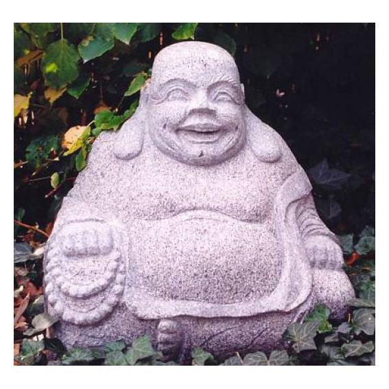 lachender hotei buddha figuren skulpturen garten japanwelt. Black Bedroom Furniture Sets. Home Design Ideas