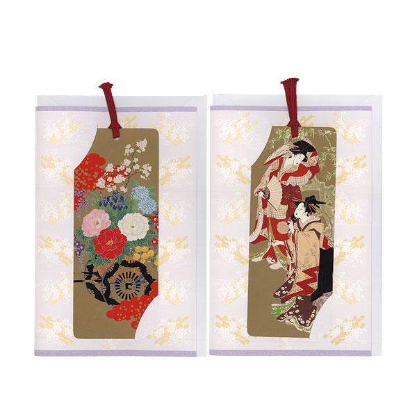lesezeichen shiori briefpapier traditionelles japanwelt. Black Bedroom Furniture Sets. Home Design Ideas