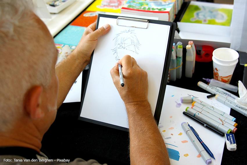 Manga und Comic Zeichner