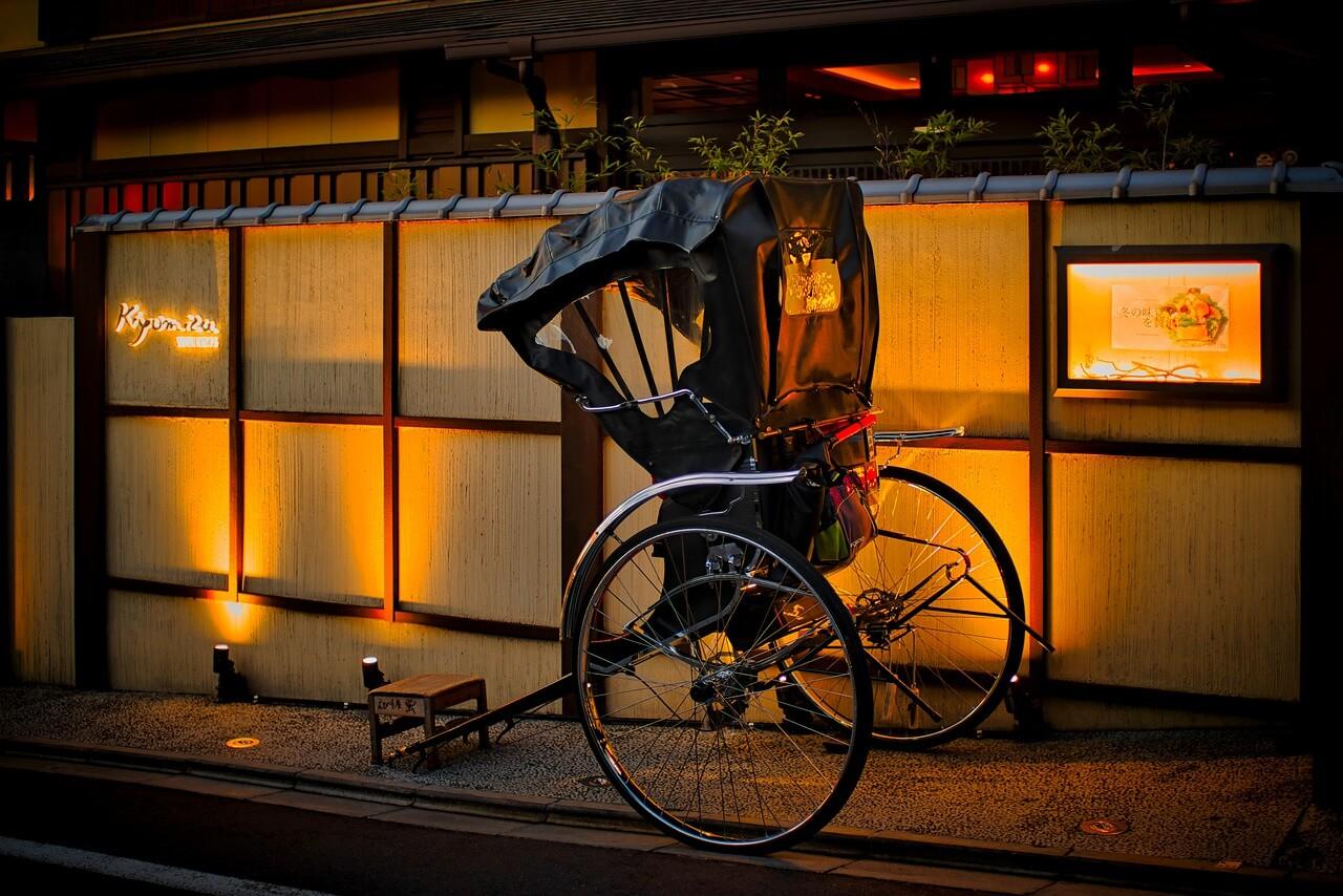 Japanische Rikscha