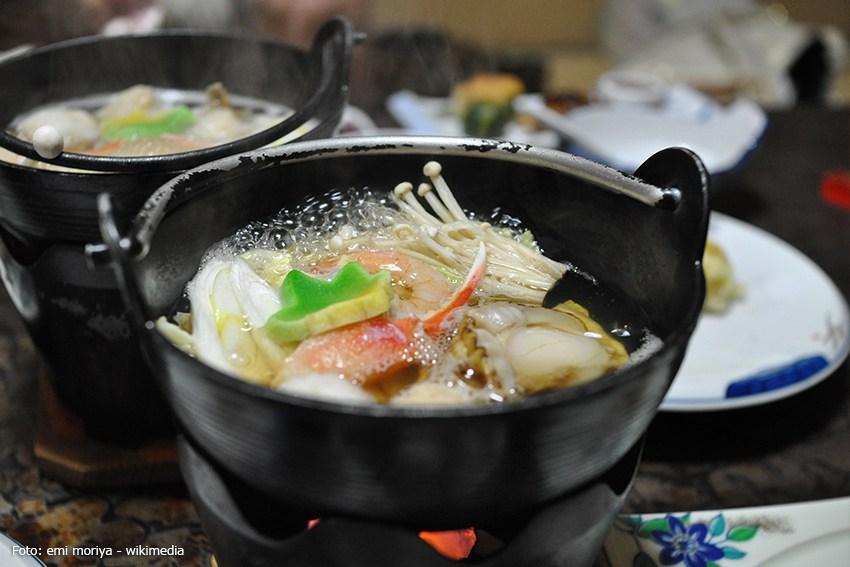Kochtopf für japanisches Fondue