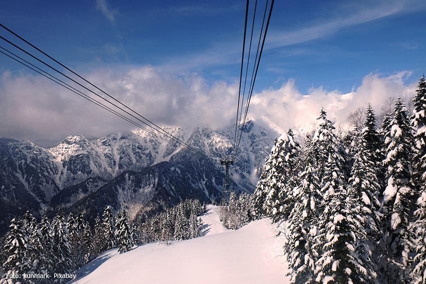 Komagatake-Seilbah - Japanische Alpen