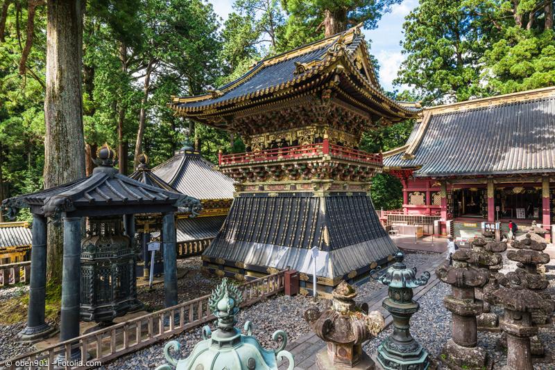 Toshogu Schrein Anlage in Nikko