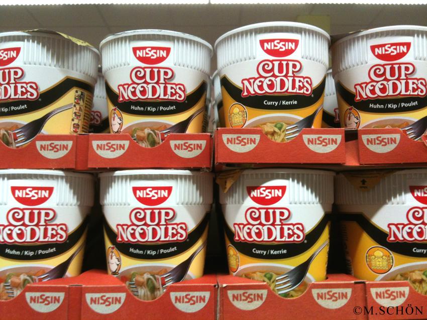 Nissin - das Instant-Nudelsuppen Original aus Japan gibt es auch in deutschen Supermärkten