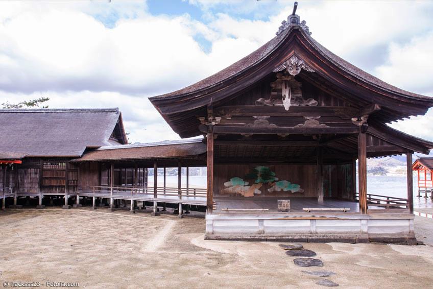 Noh Theater Bühne auf Miyajima