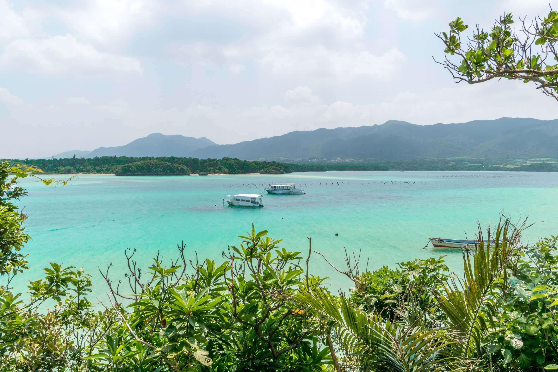 Yachten vo den japanischen Ryūkyū-Inseln