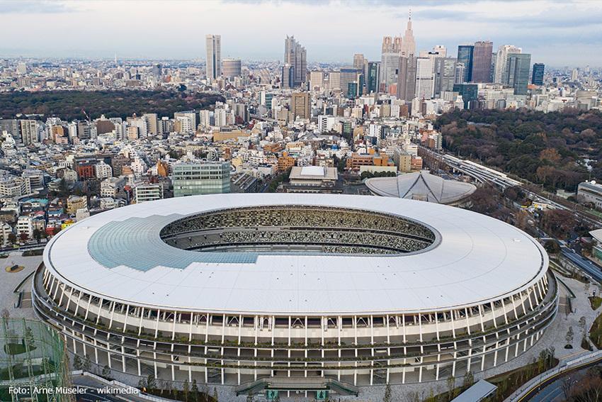 Stadion der Olympischen Spiele und Paralympics