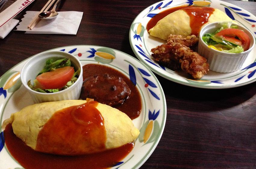 Hanton Reis Toppings und Salat