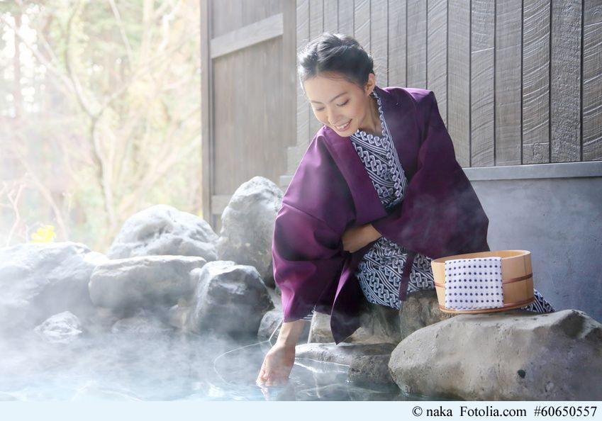 Onsen sind die traditionellen Entspannungsorte Japans.