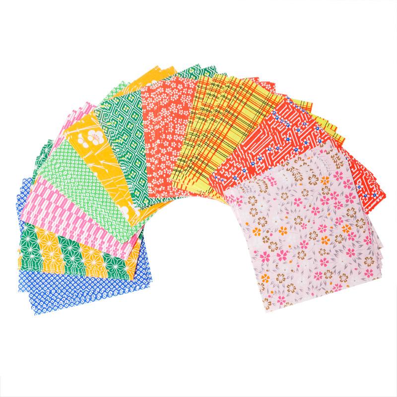 origami papier washi blumen 120 blatt origami papier 5 14 cm origami traditionelles. Black Bedroom Furniture Sets. Home Design Ideas