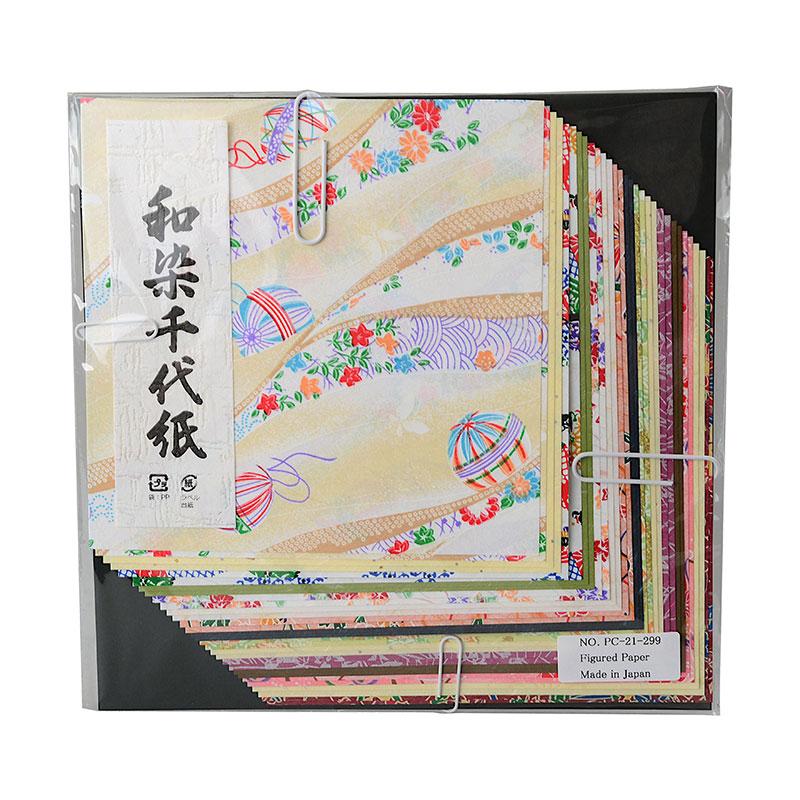origamipapier 39 no hana 39 origami papier 15x15 cm origami traditionelles japanwelt. Black Bedroom Furniture Sets. Home Design Ideas