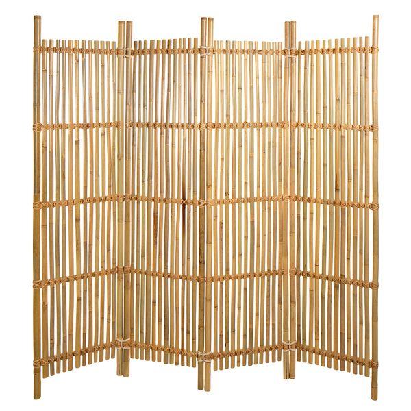 paravent bambus lamellen paravents raumteiler japanwelt