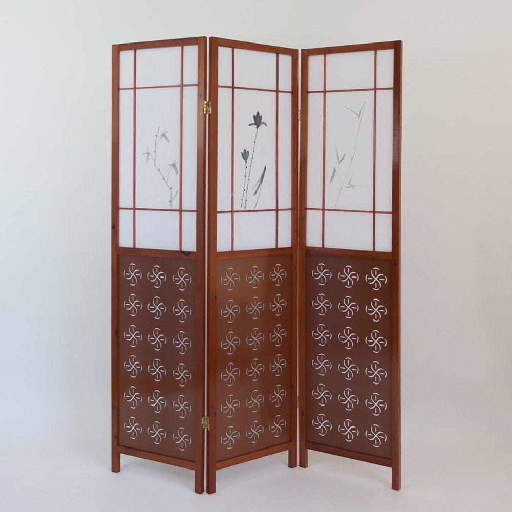paravent sasahara paravents raumteiler japanwelt. Black Bedroom Furniture Sets. Home Design Ideas