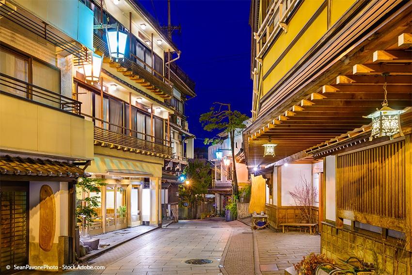 In den Ryoka, den traditionellen japanischen Hotels wird original japanisch gefrühstückt