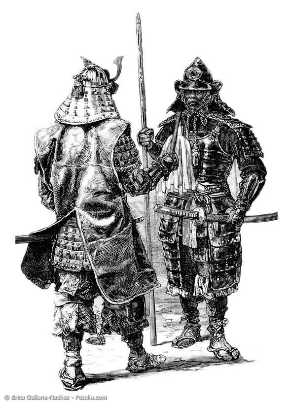Die Samurai stehen wie nichts anderes für Ehre, Tapferkeit und Loyalität. Dabei waren sie den europäischen Rittern gar nicht so unähnlich.