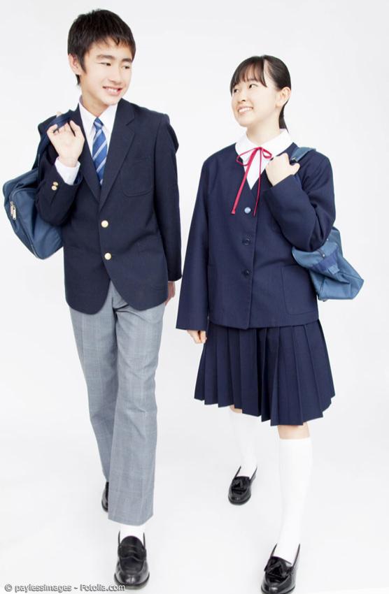 Japanische Schuluniformen Schnittmuster für Jungen- und Mädchenuniformen