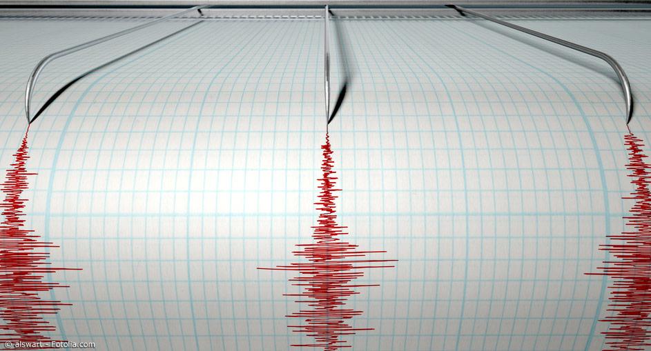 Seismographen zeichnen Erdstöße und deren Kraft auf. So kann die Stärke bestimmt werden.
