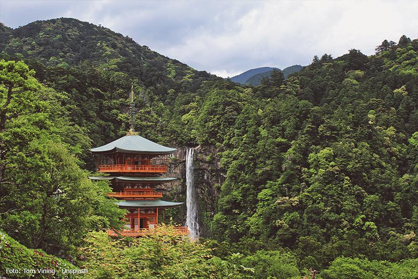 japanischer Tempel Kumano Kodo