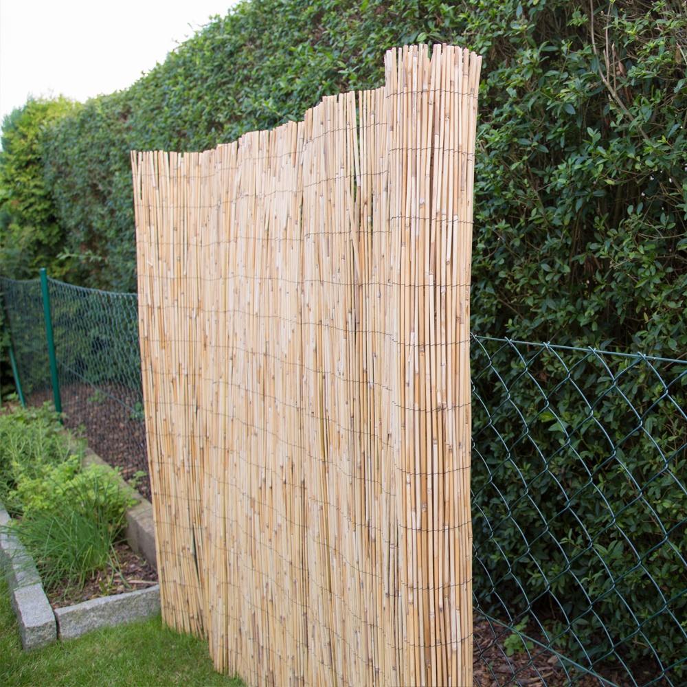Sichtschutz Schilfrohr • Zäune Bambuszäune • Bambus • Garten