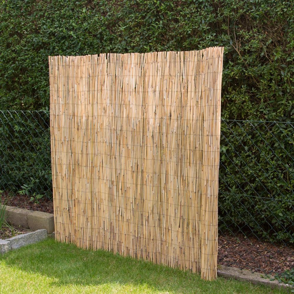 Sichtschutz schilfrohr z une bambusz une bambus for Japanisches schilf