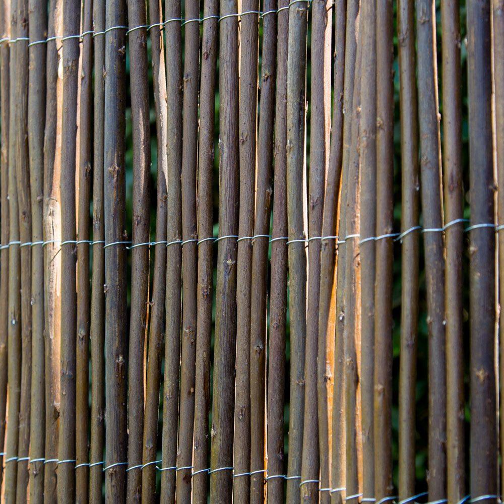 Sichtschutz Weide • Zäune Bambuszäune • Bambus • Garten