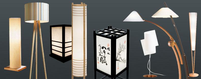 tisch stehlampen aus japen f r ihre asiatische einrichtung. Black Bedroom Furniture Sets. Home Design Ideas