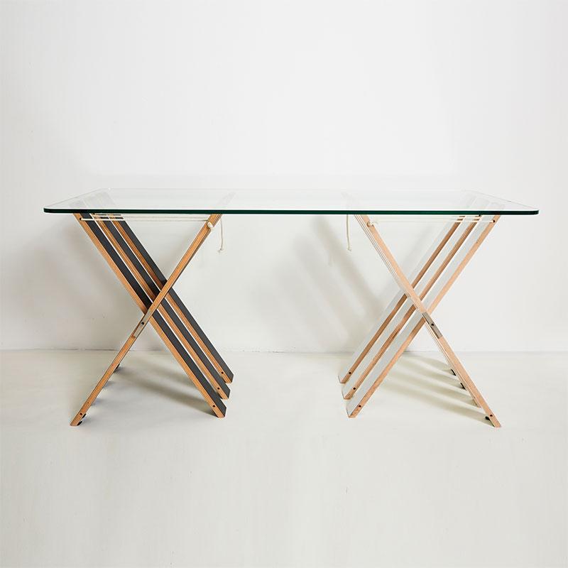 streips tischgestell tischbock ambivalenz designer. Black Bedroom Furniture Sets. Home Design Ideas