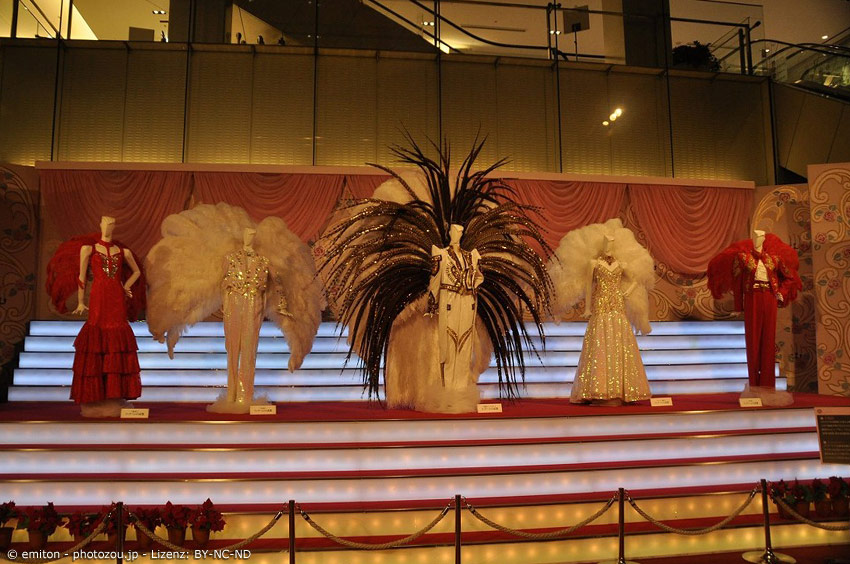 Kostüme für die Takarazuka Revue