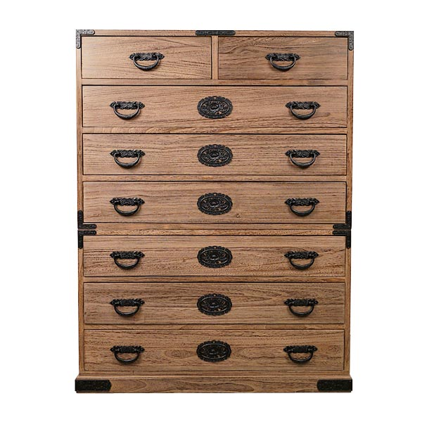 Charmant Tansu Drawer Cabinet Kiriwood High With Fittings