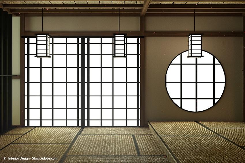Tatami-Fußboden