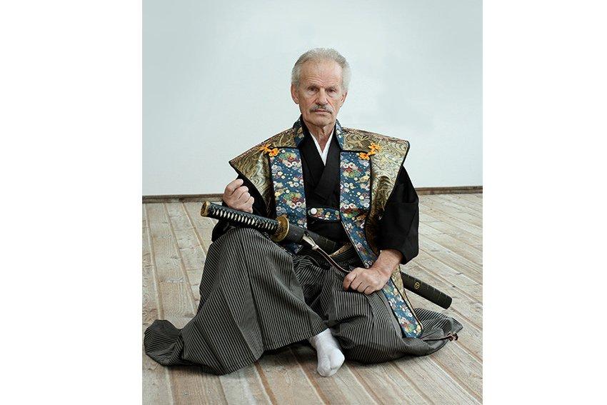 Tatahiza Sitzhaltung beim Judo