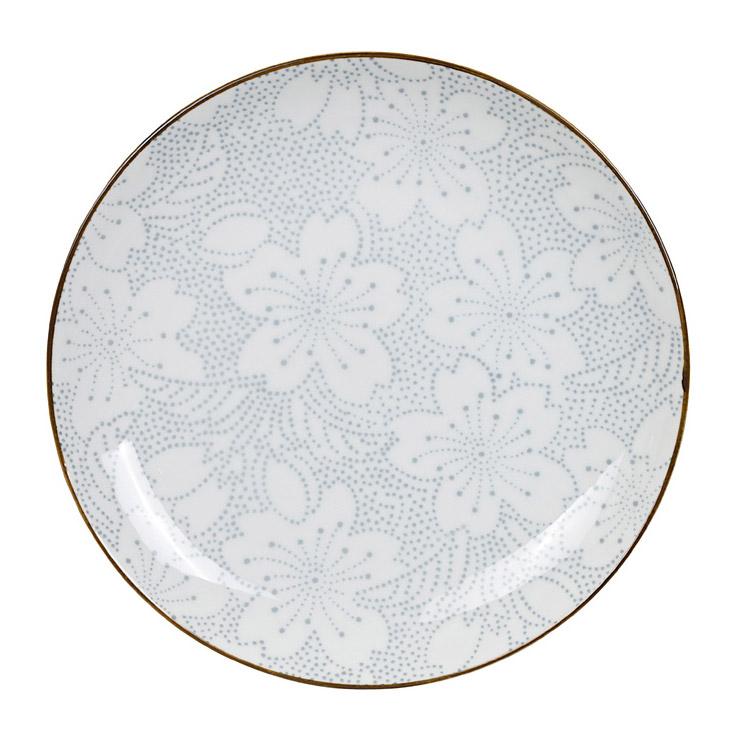 Teller \'Indigo - Sakura\' • Indigo • Geschirr-Sets • Japanische Küche ...