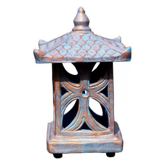 terrakotta garten laterne steinlaternen garten japanwelt. Black Bedroom Furniture Sets. Home Design Ideas