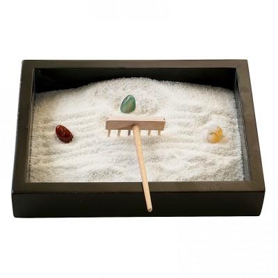 Miniatur Zengarten II mit Steinen
