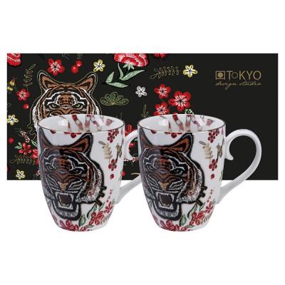 2-er Tassen-Set 'Magischer Tiger'