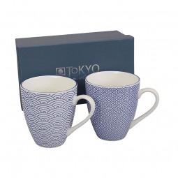 2er-Set Tassen 'Japan Blau'