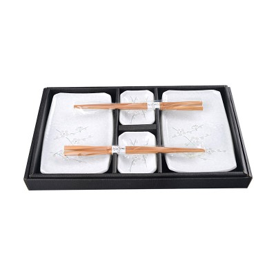 2er Sushi-Set 'Soshun weiß' (6-teilig)