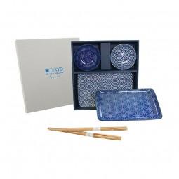 2er-Sushiset 'Japan Blau'
