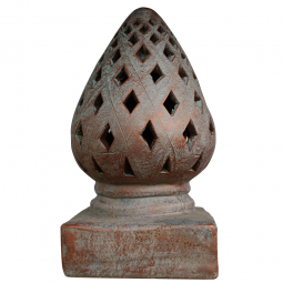 Terrakotta Laterne, Tropfenform