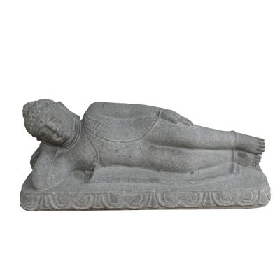 Liegender Buddha, Lavaguß